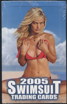2005 SI Swimsuit Trading Cards Box