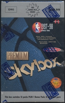 1997/98 Skybox Premium Series 2 Basketball Blaster Box