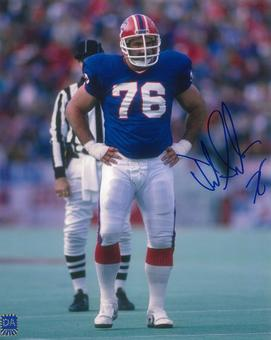 Fred Smerlas Autographed Buffalo Bills 8x10 Photo