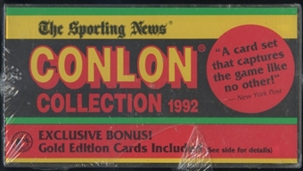 1992 Conlon Collection Baseball Factory Set