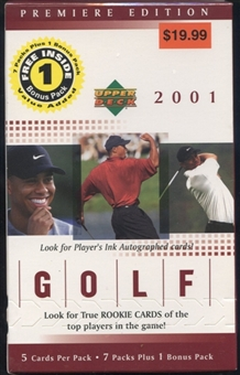 2001 Upper Deck Golf Blaster Box
