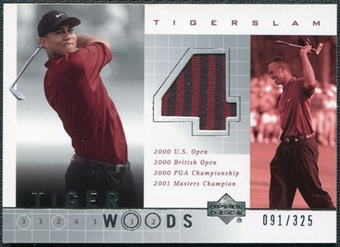 2001 Upper Deck Tiger Slam 4 Employee #NNO Tiger Woods 91/325