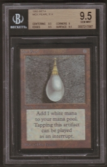 Magic the Gathering Beta Single Mox Pearl BGS 9.5