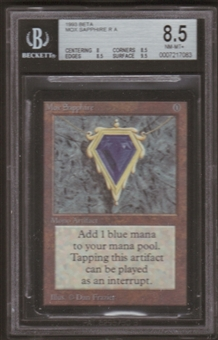 Magic the Gathering Beta Single Mox Sapphire BGS 8.5