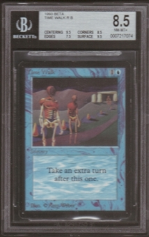 Magic the Gathering Beta Single Time Walk BGS 8.5