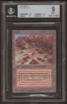 Magic the Gathering Beta Single Plateau BGS 9