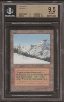 Magic the Gathering Beta Single Taiga BGS 9.5