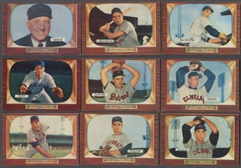 1955 Bowman Baseball Starter Set (EX) (211 Different)