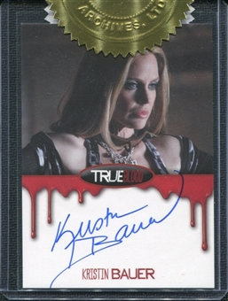 2012 Rittenhouse True Blood Premiere Autographs #17 Kristin Bauer as Pam