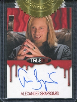 2012 Rittenhouse True Blood Premiere Autographs #2 Alexander Skarsgard as Eric Northman