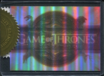 Game of Thrones Season One #CT Title Sequence /900 (Rittenhouse 2012)