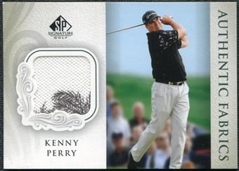 2004 Upper Deck SP Signature Authentic Fabrics Singles #KP Kenny Perry