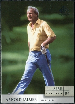 2004 Upper Deck SP Signature #1 Arnold Palmer