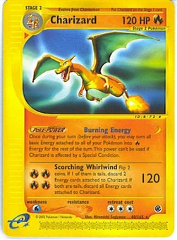 Pokemon Expedition Single Charizard 40/165