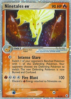 Pokemon Hidden Legends Single Ninetales ex 96/101