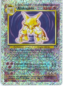 Pokemon Legendary Collection Single Alakazam 1/110 - Reverse