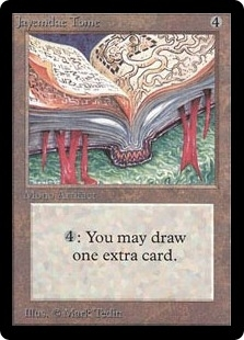 Magic the Gathering Beta Single Jayemdae Tome UNPLAYED (NM/MT)