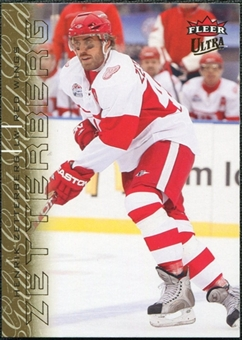 2009/10 Ultra Gold Medallion #54 Henrik Zetterberg
