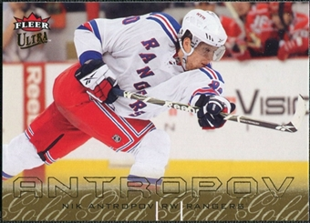 2009/10 Fleer Ultra Gold Medallion #171 Nik Antropov