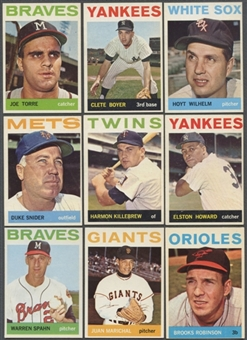 1964 Topps Baseball Starter Set (403 Different) EX-MT