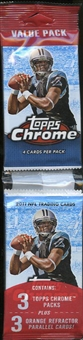 2011 Topps Chrome Football Value Rack Pack