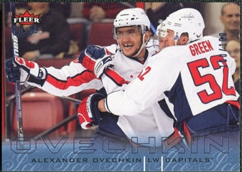 2009/10 Fleer Ultra Ice Medallion #146 Alexander Ovechkin /100