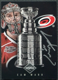 2011/12 Panini Limited Stanley Cup Signatures #CW Cam Ward Autograph 17/99