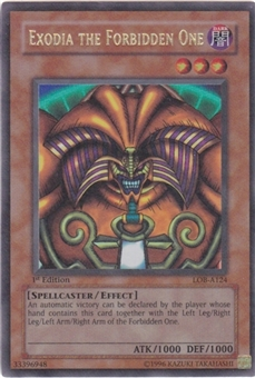 Yu-Gi-Oh BEWD Single Exodia, The Forbidden One Ultra Rare - 1st Edition Australian