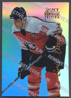 1996/97 Select Certified #1 Eric Lindros Mirror Blue