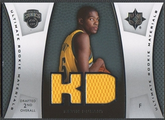 2007/08 Ultimate Collection #KD Kevin Durant Materials Rookie Jersey