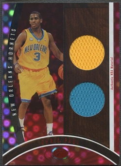 2006/07 Bowman Elevation #DRCP Chris Paul Executive Level Dual Red Jersey #29/49