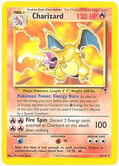 Pokemon Theme Deck Exclusive Single Charizard 3/110 - NEAR MINT (NM)