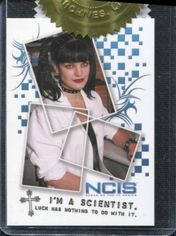 2012 Rittenhouse NCIS Character Quote Box Toppers #CT2 Abby Sciuto /225
