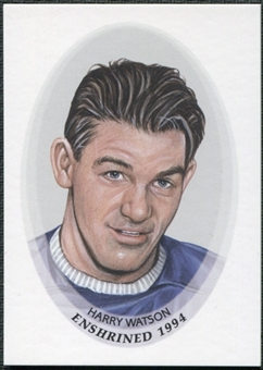 2010/11 In the Game ITG Enshrined #104 Harry Watson /175