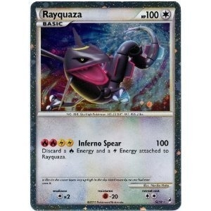 Pokemon Call of Legends Single Rayquaza SL10