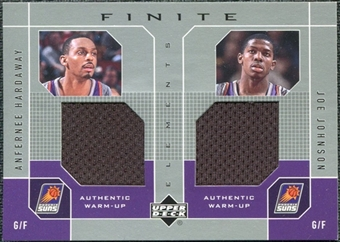 2002/03 Upper Deck Finite Elements Dual Warm-Ups #AHJJ Anfernee Hardaway Joe Johnson