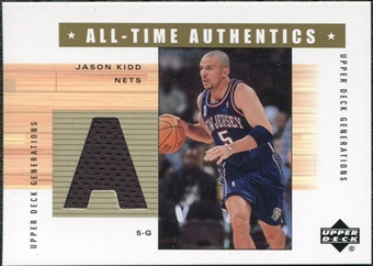 2002/03 Upper Deck Generations All-Time Authentics #JKA Jason Kidd