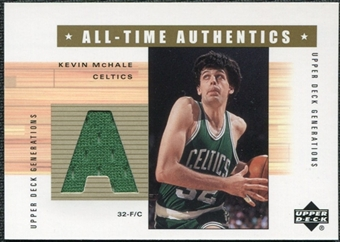 2002/03 Upper Deck Generations All-Time Authentics #MCA Kevin McHale