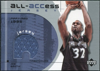 2002/03 Upper Deck All-ACCess Jerseys #AJS Joe Smith