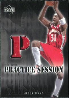 2002/03 Upper Deck Practice Session Jerseys #JTPS Jason Terry