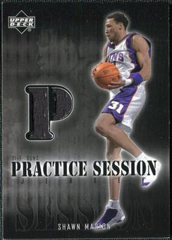 2002/03 Upper Deck Practice Session Jerseys #SMPS Shawn Marion