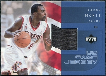 2002/03 Upper Deck UD Game Jerseys 1 #AMRJ Aaron McKie R