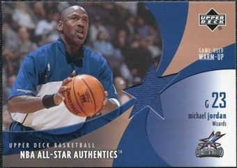 2002/03 Upper Deck All-Star Authentics Warm-Ups #MJAW Michael Jordan SP