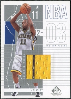 2002/03 Upper Deck SP Game Used #37 Jamaal Tinsley Jersey