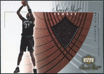 2002/03 Upper Deck Sweet Shot Jerseys #KGJ Kevin Garnett