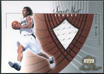 2002/03 Upper Deck Sweet Shot Jerseys #SNJ Steve Nash