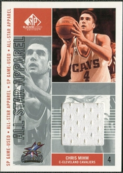 2002/03 Upper Deck SP Game Used All-Star Apparel #CMAS Chris Mihm