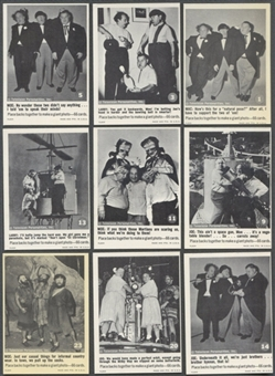 Three Stooges Complete Set (1966 Fleer) (NM Condition)