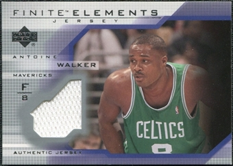 2003/04 Upper Deck Finite Elements Jerseys #FJ13 Antoine Walker