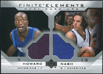 2003/04 Upper Deck Finite Elements Warmups #FE17 Josh Howard Steve Nash